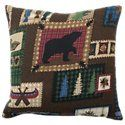Bass Pro Shops The Lake Bedding Collection Square Pillow