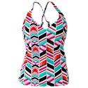 JAG Mix and Match Collection ​Print X-Back Tankini for Ladies