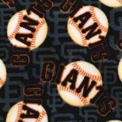 San Francisco Giants Fleece Fabric 58