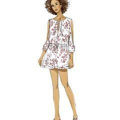 2fd6cbc1e848 Vogue Pattern V9260 Misses  Romper   Jumpsuit-Size 4-6-8-