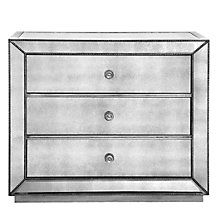 Omni Mirrored 3 Drawer Hall Chest