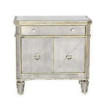 Borghese Mirrored Nightstand