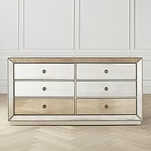 Omni Mirrored 6 Drawer Chest