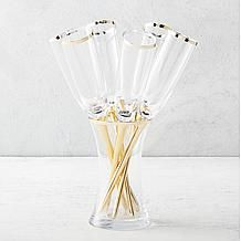 Salud Toasting Flutes - Set of 6