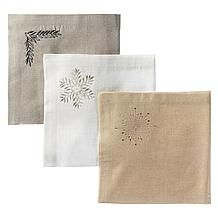 Kingston Embroidered Napkin - Se...