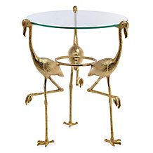 Flamingo Accent Table