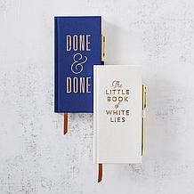 Book Of Little White Lies Journal