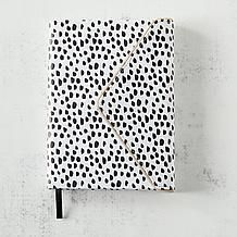 Dalmation Zippered Edge Journal