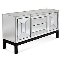 Tangent Mirrored Buffet Cabinet
