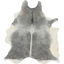 Vache Hair On Hide Rug - Grey