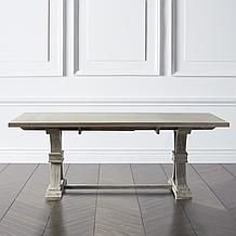 Archer Natural Grey Extending Dining Table