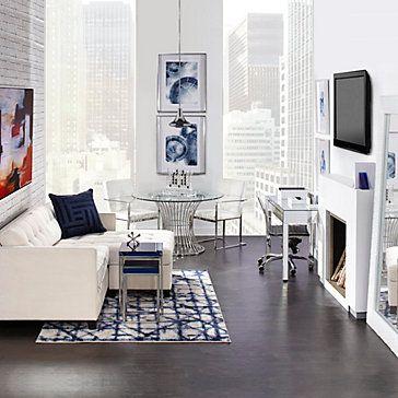 Studio Mirrored Desk