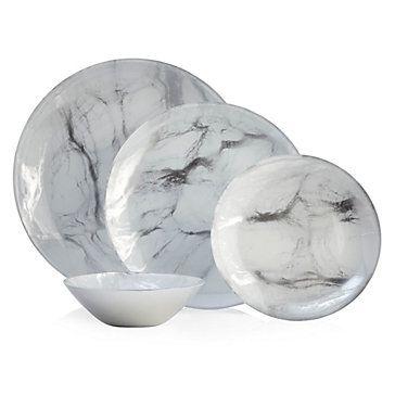 Marble Dinnerware - Sets of 4