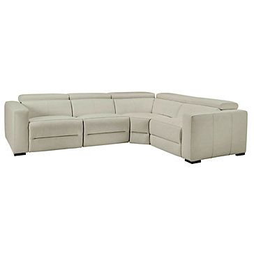 Verona Reclining Sectional - Taupe