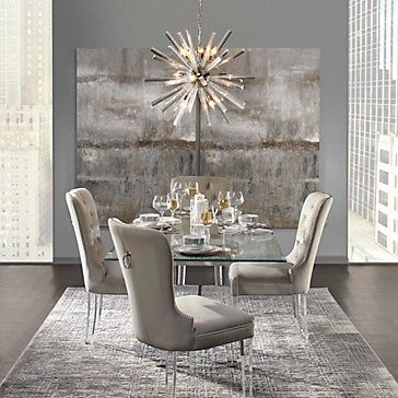 Savoy Dining Table Clearly Chic