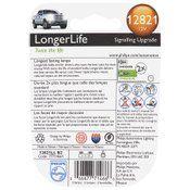 Philips 12821 LongerLife Miniature Bulb, 2-Pack | 537296