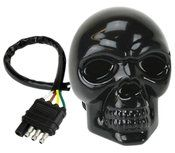Reese Towpower Skull Led Lighted Hitch Cover Black Stealth