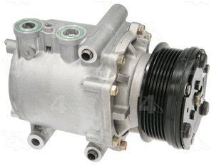 Factory Air by 4 Seasons New Ford Scroll Compressor w/ Clutch