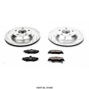 Power Stop Evolution Sport 1-Click Brake Kit - Rear
