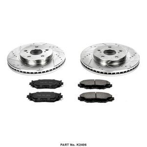Power Stop Evolution Sport 1-Click Brake Kit - Front