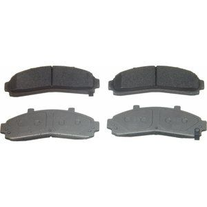 Wagner ThermoQuiet Semi-Metallic Brake Pads