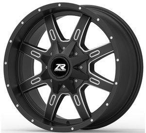 ZR Offroad V509 20X9 10-139.7/150, Ballcut Machined