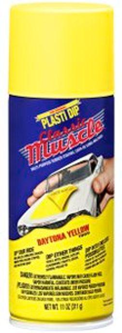 Plasti Dip Spray Classic Muscle, Daytona Yellow, 11 oz