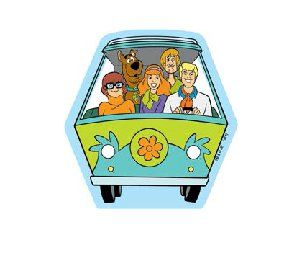 Open Road Brands Mystery Machine Tin Magnet