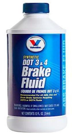 Valvoline DOT 3 & 4 Brake Fluid,12 oz