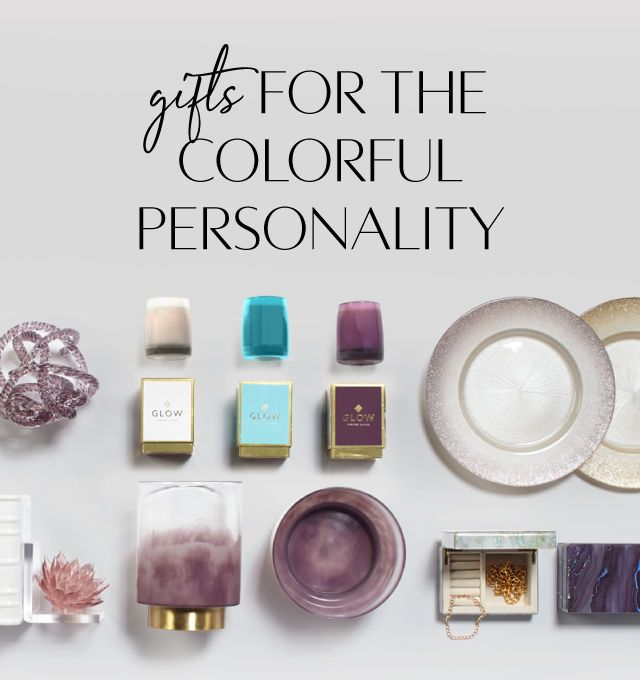 Gifts for the Colorful Personality