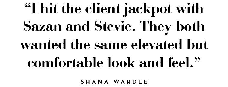 I hit the client jackpot with Sazan and Stevie. It doesn't happen this way, especially with couples!