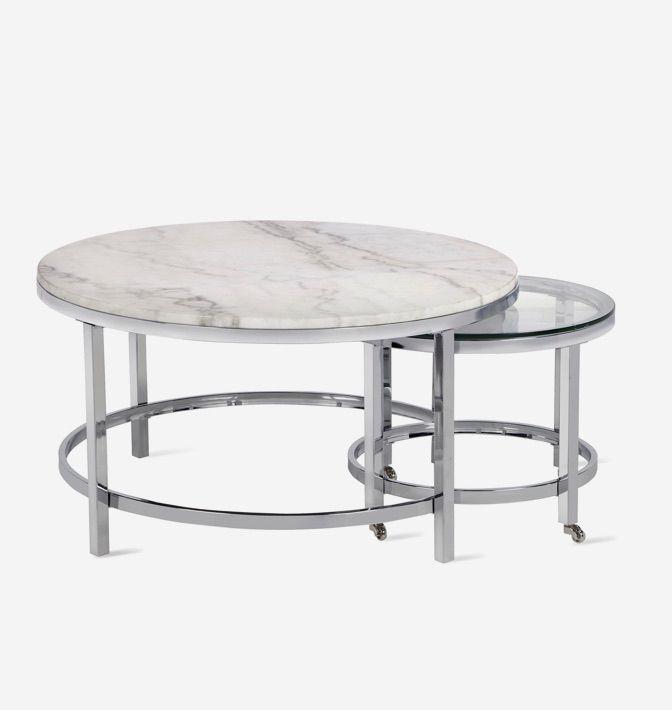Vincente Coffee Table Set Of 2 Crestmont Vincente Living Room