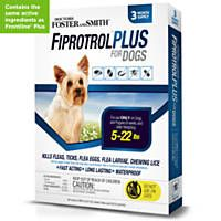 Doctors Foster + Smith Fiprotrol Topical Flea & Tick Control For Dogs 5 to 22 lbs.