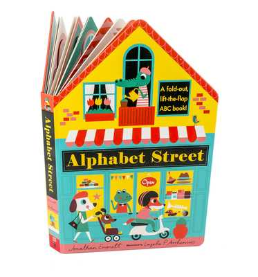 Alphabet Street - Emmett, Jonathan, and Arrhenius, Ingela P (Illustrator)