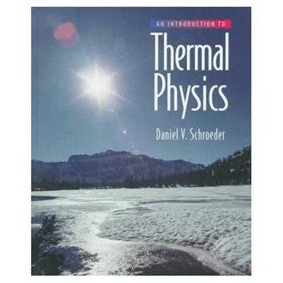An Introduction to Thermal Physics - Schroeder, Daniel