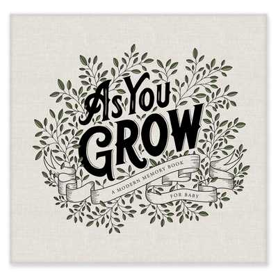As You Grow: A Modern Memory Book for Baby - Herold, Korie, and Paige Tate & Co (Producer)