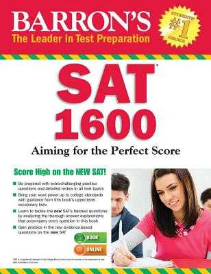 Barron's SAT 1600 with Online Test - Carnevale, Linda, and Teukolsky, Roselyn