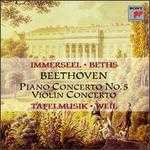 Beethoven: Piano Concerto No. 5, Op. 73 & Concerto for Violin and Orchestra, Op. 61
