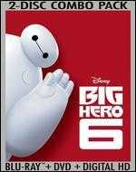 Big Hero 6 [2 Discs] [Includes Digital Copy] [Blu-ray/DVD]