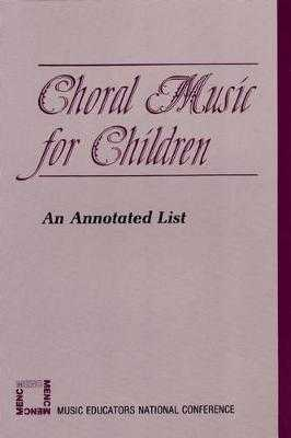 Choral Music for Children - Rao, Doreen (Editor)