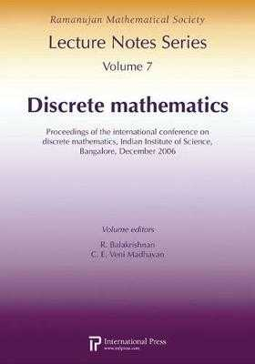 Discrete Mathematics: Proceedings of the International Conference on Discrete Mathematics - Balakrishnan, R.