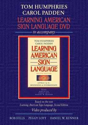 DVD for Learning American Sign Language - Humphries, Tom L, and Padden, Carol A, and Hills, Robert