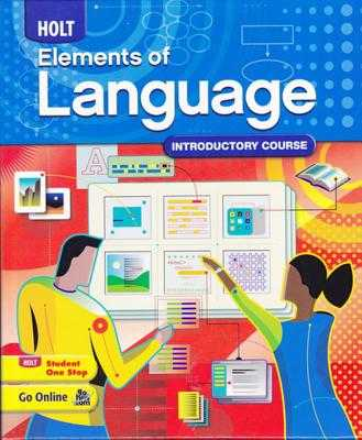 Elements of Language: Student Edition Grade 6 2009 - Holt Rinehart and Winston (Prepared for publication by)