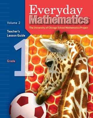 Everyday Mathematics, Grade 1, Teacher's Lesson Guide Volume 2 - UCSMP