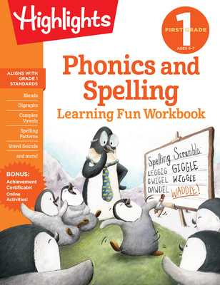 First Grade Phonics and Spelling - Highlights Learning (Creator)