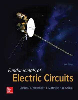 Fundamentals of Electric Circuits - Alexander, Charles K, Professor, P, and Sadiku, Matthew