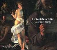 Heinrich Schütz: Cantiones sacrae - Amy Haworth (soprano); Benedict Hymas (tenor); Caroline Trevor (alto); Giles Underwood (bass); Guy Cutting (tenor);...