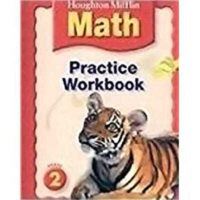 Houghton Mifflin Math: Practice Book Grade 2 - Houghton Mifflin Company (Prepared for publication by)