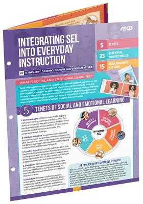 Integrating Sel Into Everyday Instruction (Quick Reference Guide) - Frey, Nancy, and Smith, Dominique, and Fisher, Douglas