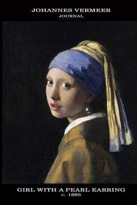 Johannes Vermeer Journal: Girl with a Pearl Earring: 100 Page Notebook/Diary - Vermeer, Johannes